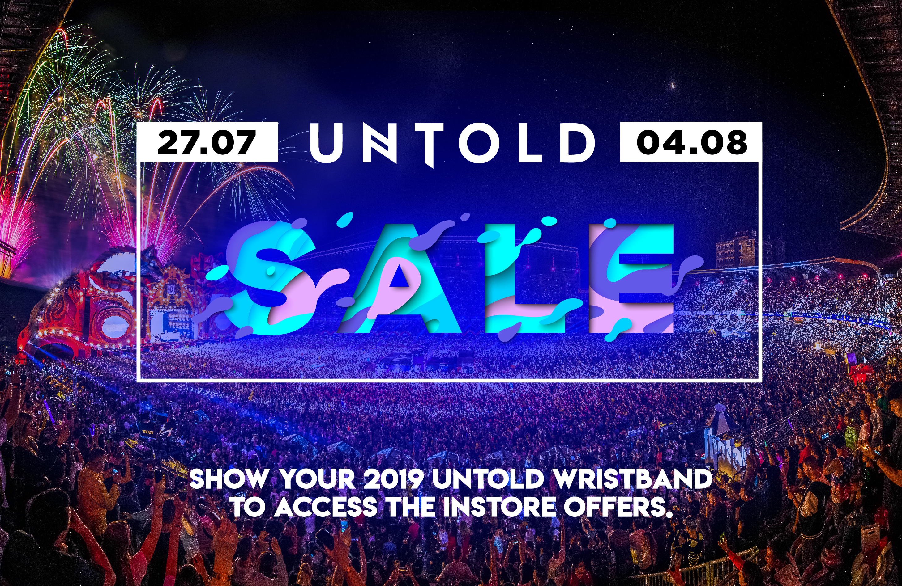 Monster Sale W Your Untold Wristband Iulius Mall Cluj Napoca